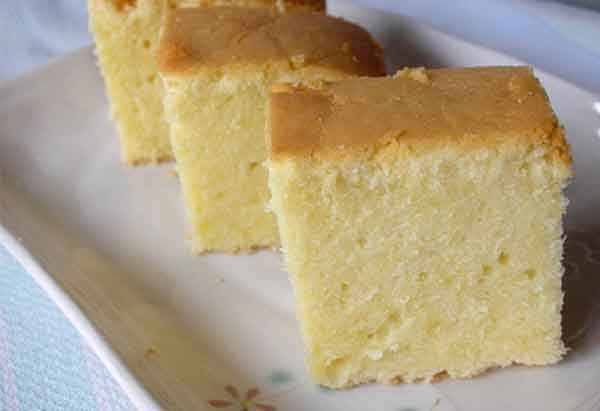 EGGLESS SPONGE CAKE RECIPE - Tastekatadka